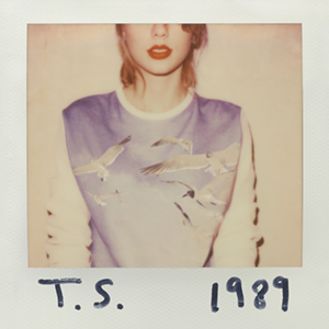 Taylor Swift 1989 Album cover.